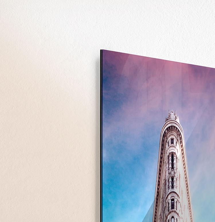 flatiron acrylic print