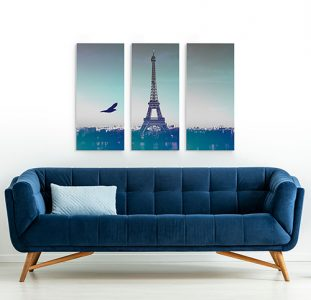 3 Panels Canvas