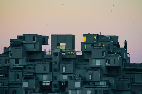 habitat 67 moderne