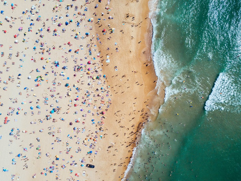 beach from above
